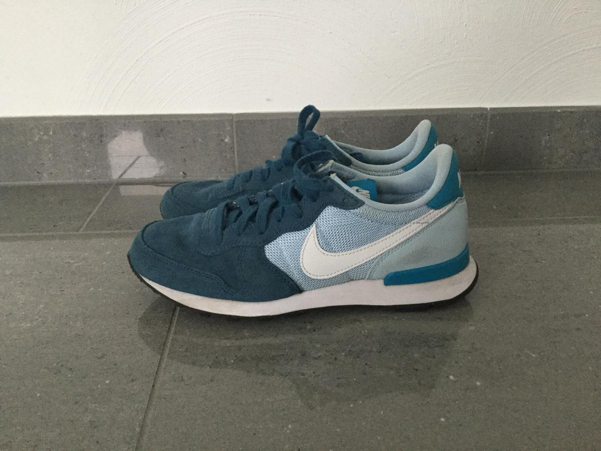 blaue nike internationalist damen