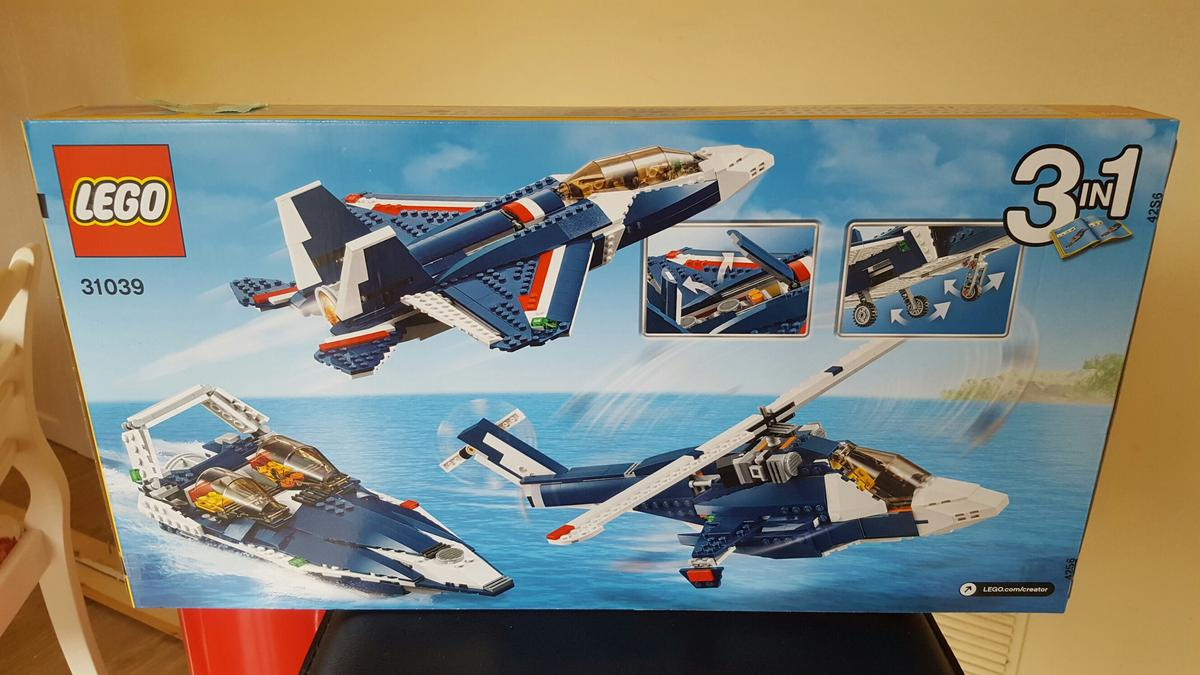 Creator 00 40 31039 Lego Hr1 Blue Power Fownhope Jet In Für E2WDH9IY