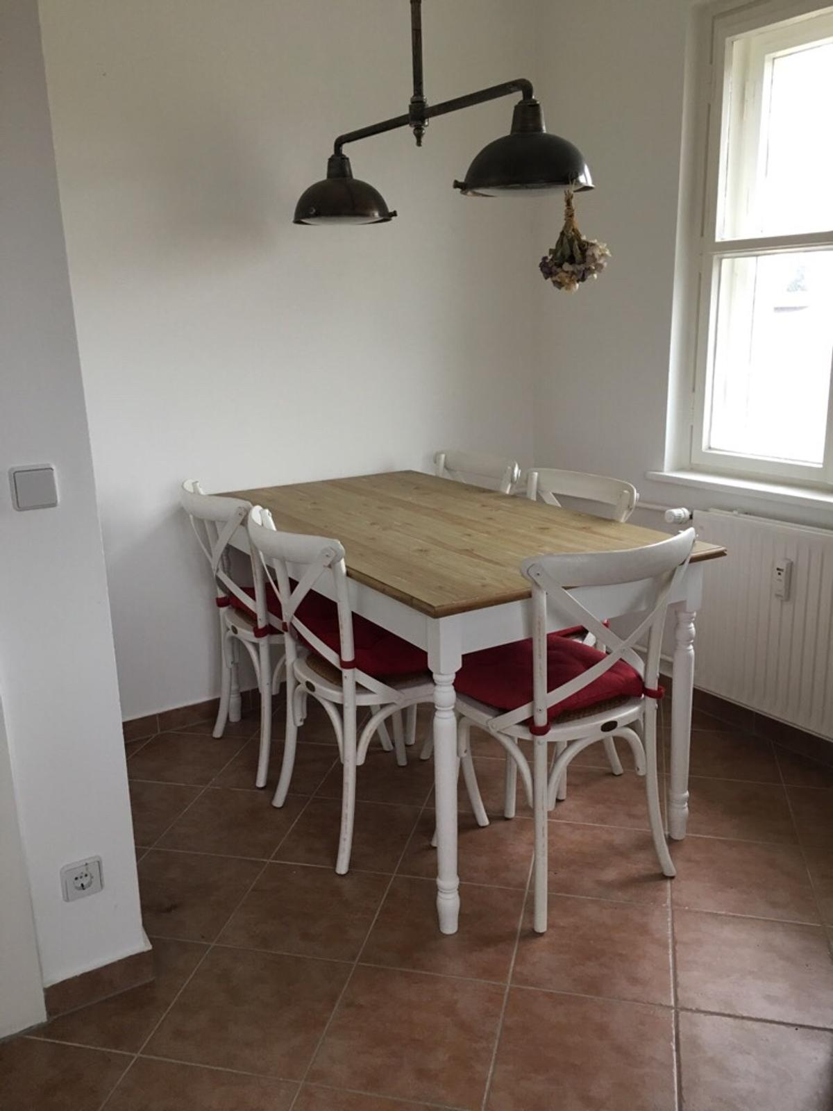 Esstisch Weiss Holz 150x80x85cm Rahaus In 14165 Berlin For 150 00 For Sale Shpock