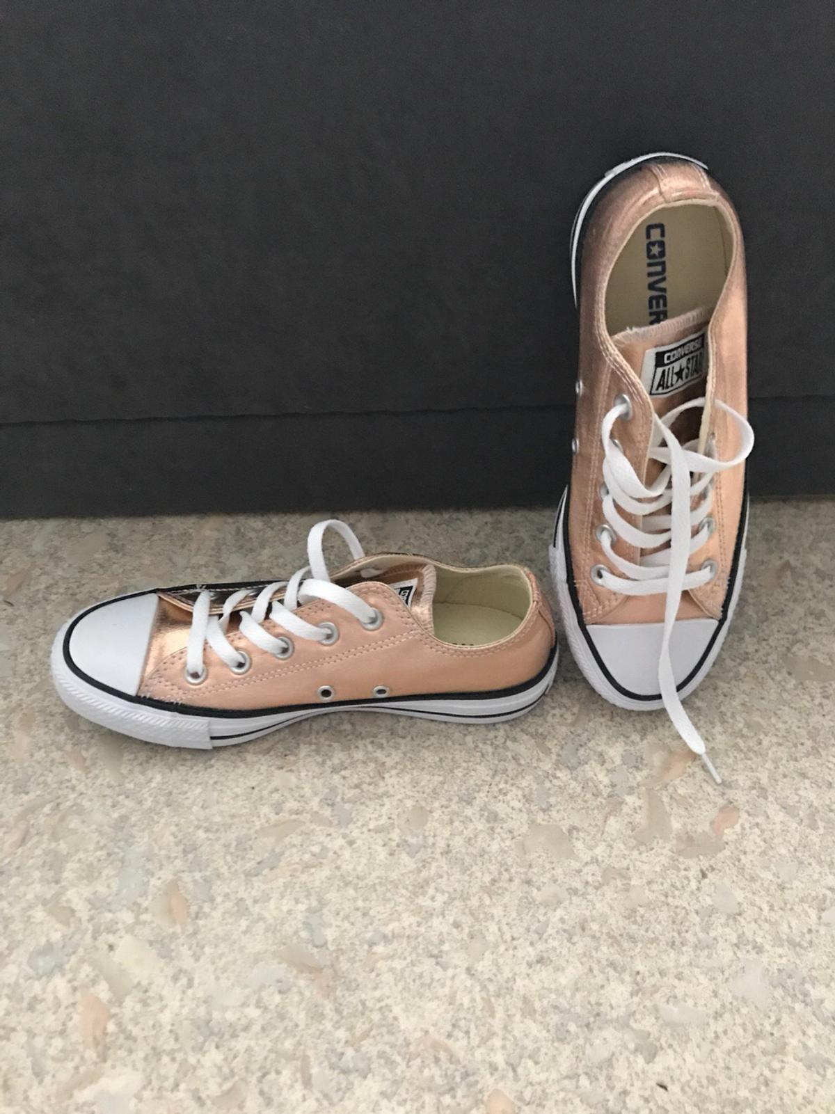 Converse all Star chucks Rose Gold