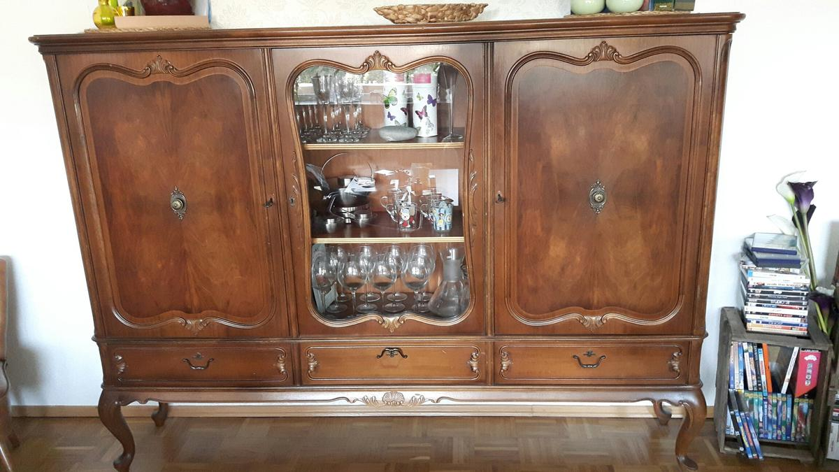 Chippendale Schrank Highboard Sideboard