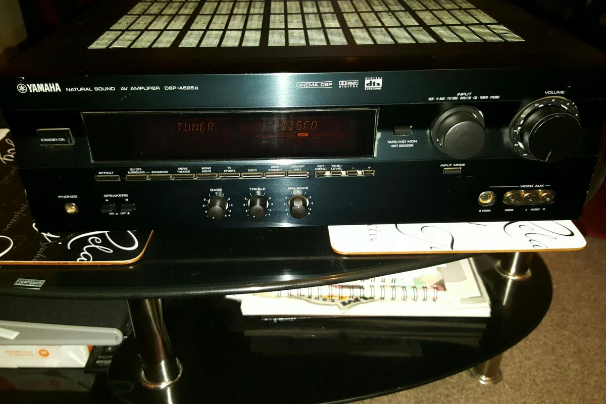 AMPLIFIER YAMAHA DSP-A595a 300 watts in SW9 London for