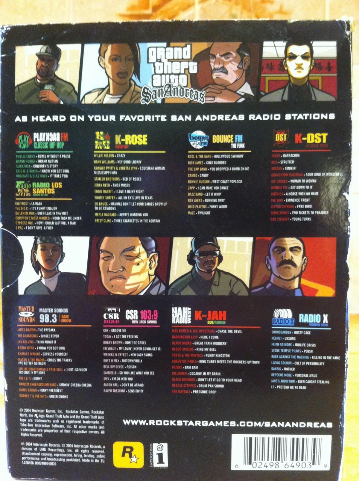 Grand theft auto cd box set  in PO10 Emsworth for £88 00 for