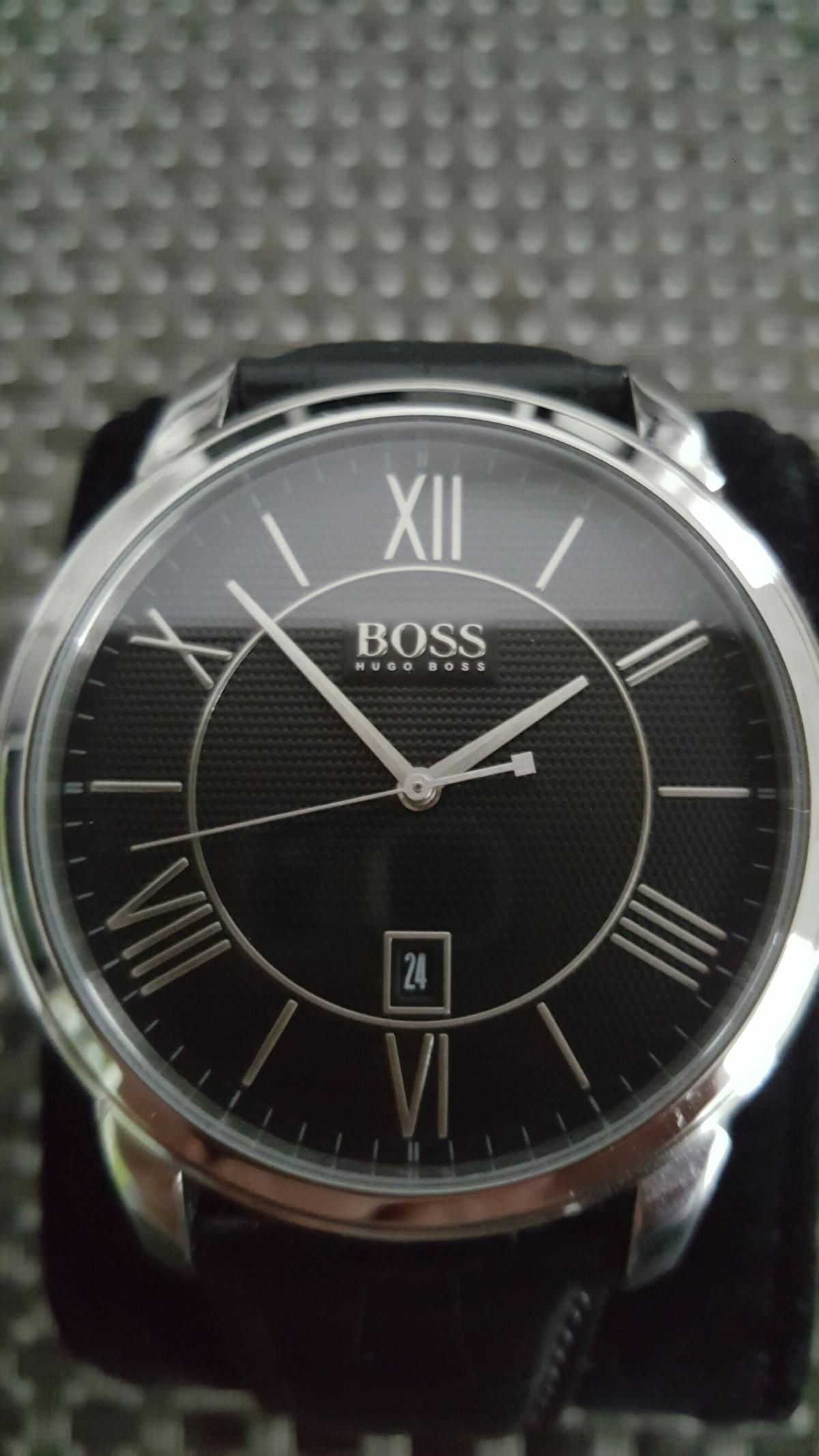 quality design new design new authentic Hugo Boss Herrenarmbanduhr