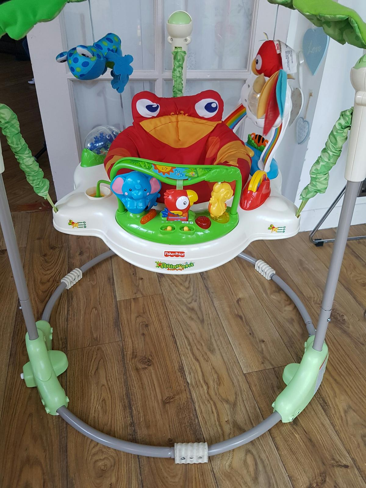 a7835fa555e7 Fisher price rainforest jumperoo in SW6 London for £20.00 for sale ...