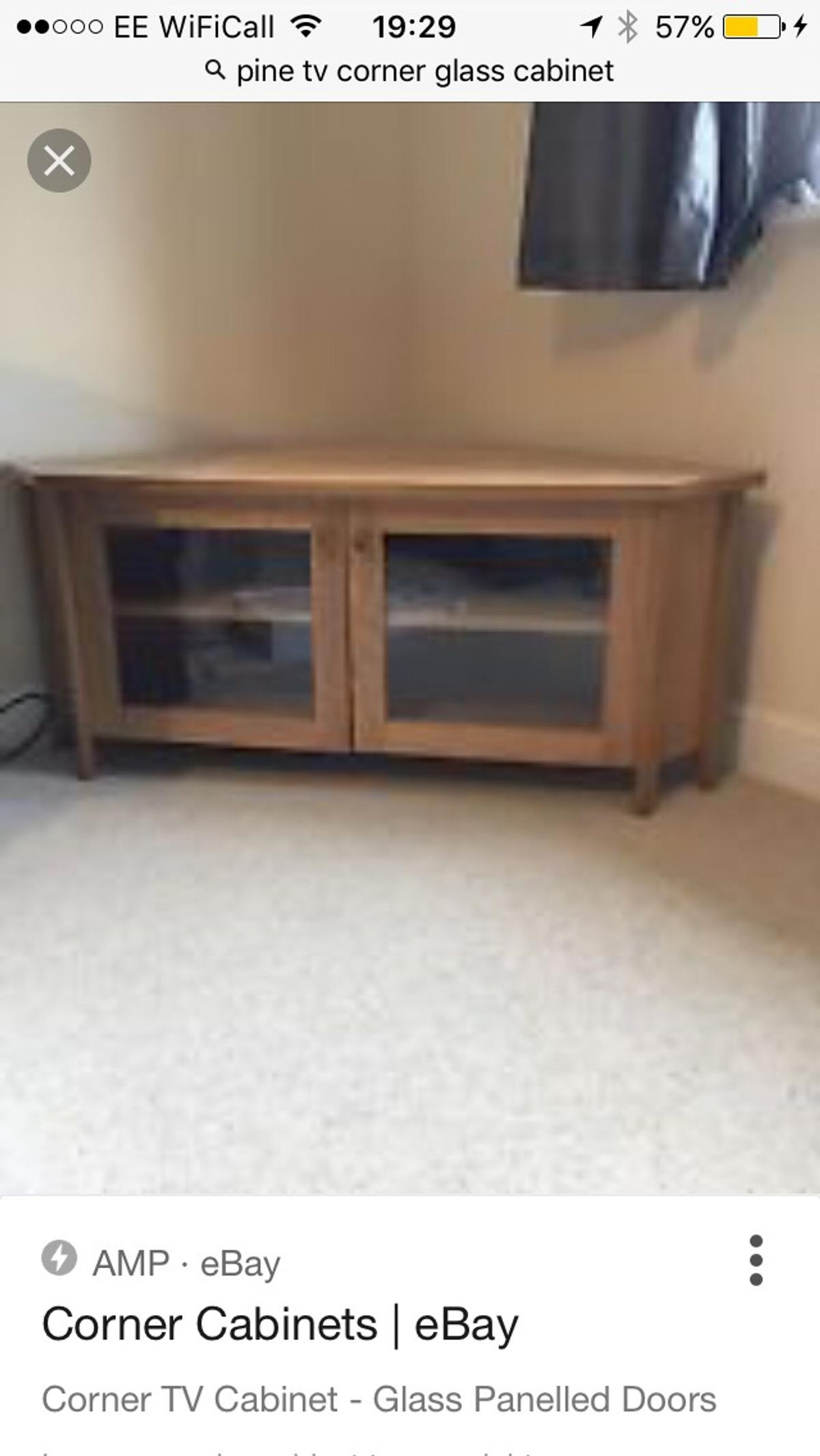 Corner Tv Unit In East Hampshire For