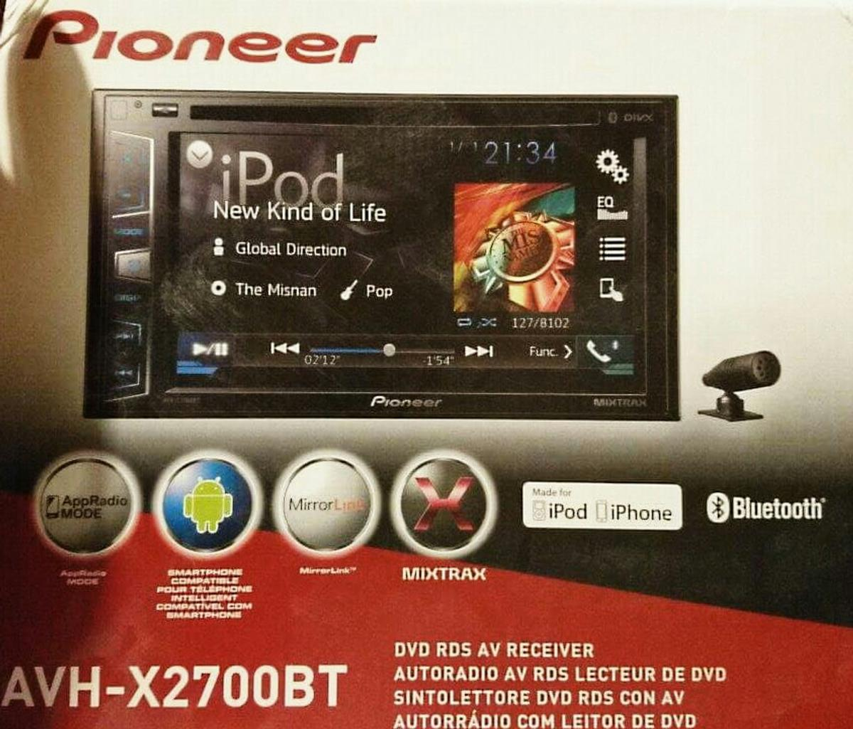 Pioneer double din Dvd android app radio cd