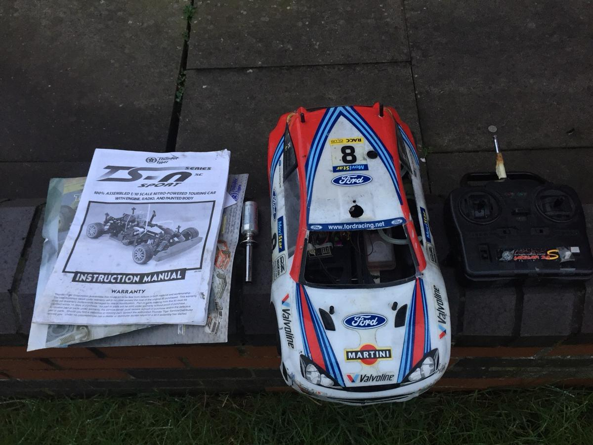 RC NITRO TOURING CAR  THUNDER TIGER in ST4-Trent for £60 00