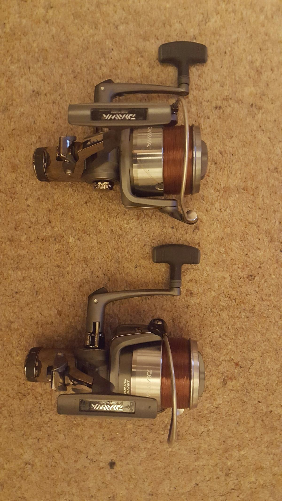 2 x Daiwa Regal Z 4500 BR reels in TW17 Shepperton for