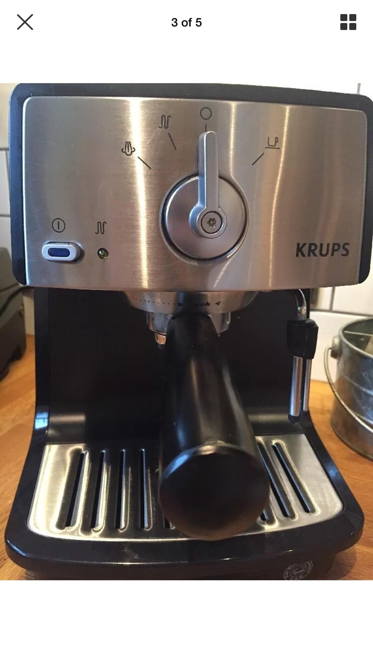 Krups Xp4020 Manual Expresso Coffee Machine In W4 London For