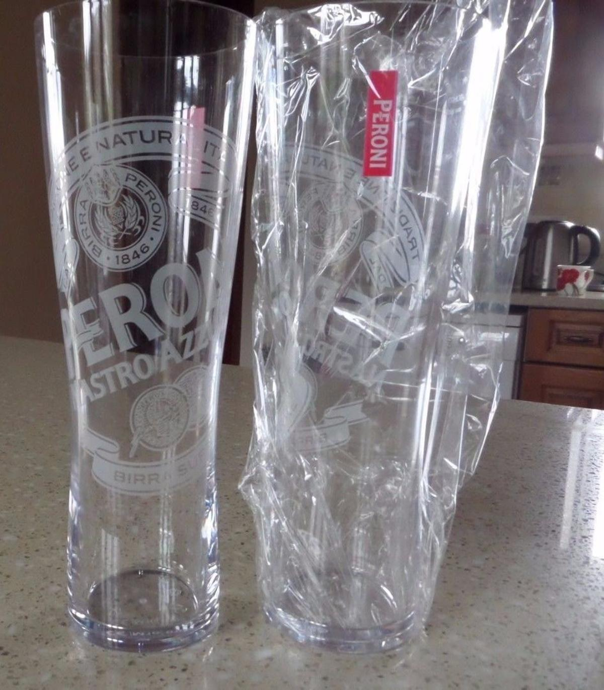 Set Of 2 Kingfisher Half Pint Glasses Brand New 100/% Genuine Official