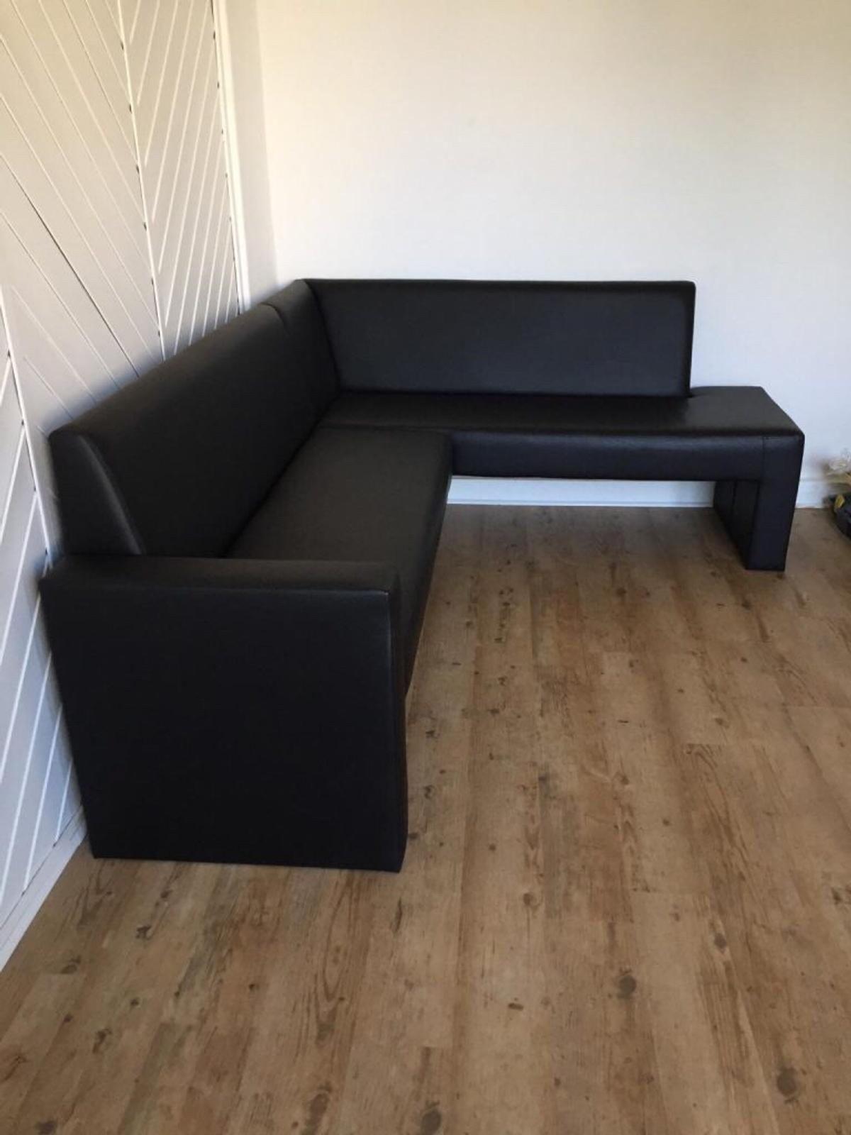 Eckbank Ikea Schwarz Kunstleder In 12051 Berlin For 99 00 For Sale Shpock