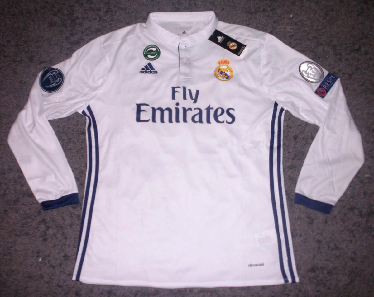 reputable site c1063 587e1 Real Madrid Long Sleeve BALE Football Shirt in DY5 Dudley ...