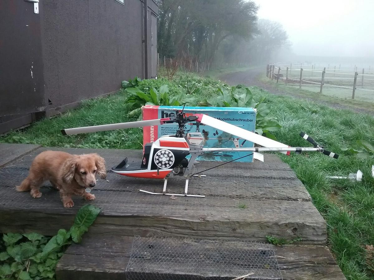 Vintage Rc Helicopter Graupner Helimax 40 In Po20 Eastergate For 80 00 For Sale Shpock