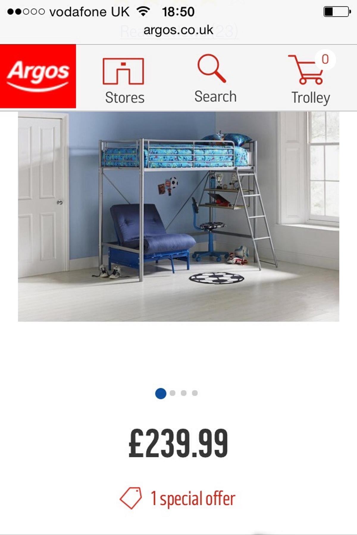 Pictures On Argos High Sleeper With Sofa