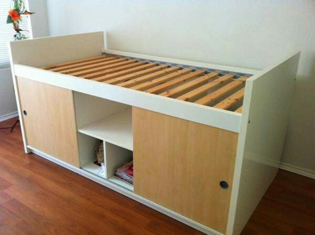 Ikea Bangsund Single Storage Cabin Bed In Co4 Colchester For 60 00 For Sale Shpock