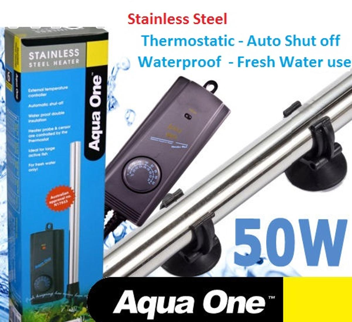 Aqua One Submersible Aquarium Heater,S/Steel in BD9 Bradford