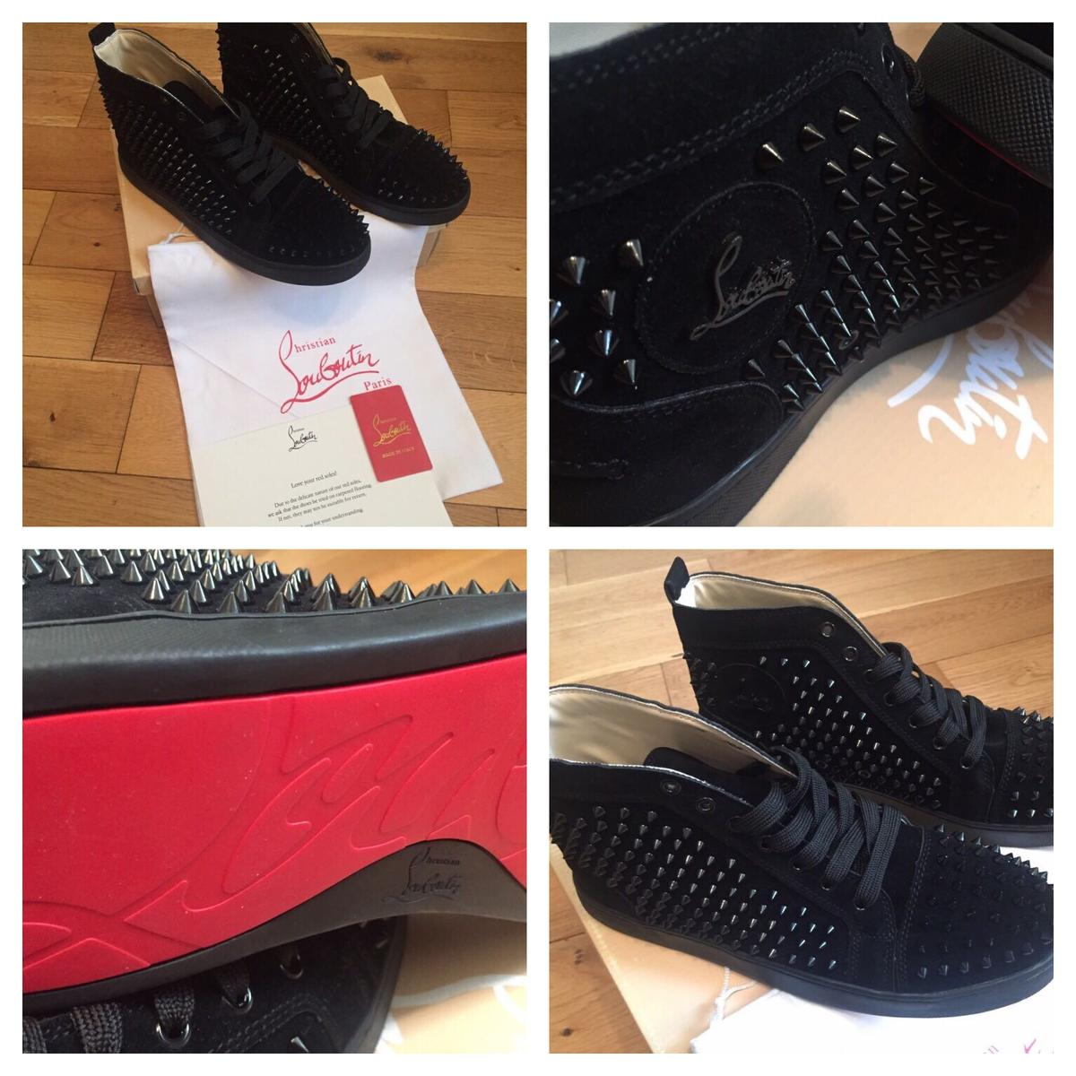 bceadbc8bd9 Christian Louboutin Louis Flat Calf Spike in RG4 Reading for £280.00 ...