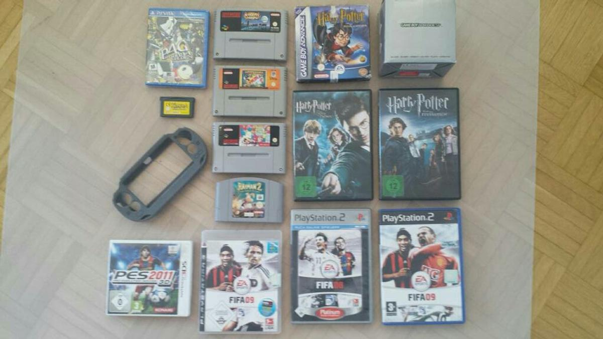 SNES, N64, VITA, GBA, 3DS, PS2 & 3, OVP, DVD in 81377