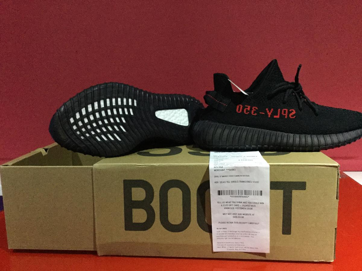 Black and Red adidas Yeezy Boost 350 V2 CP9652 For Sale