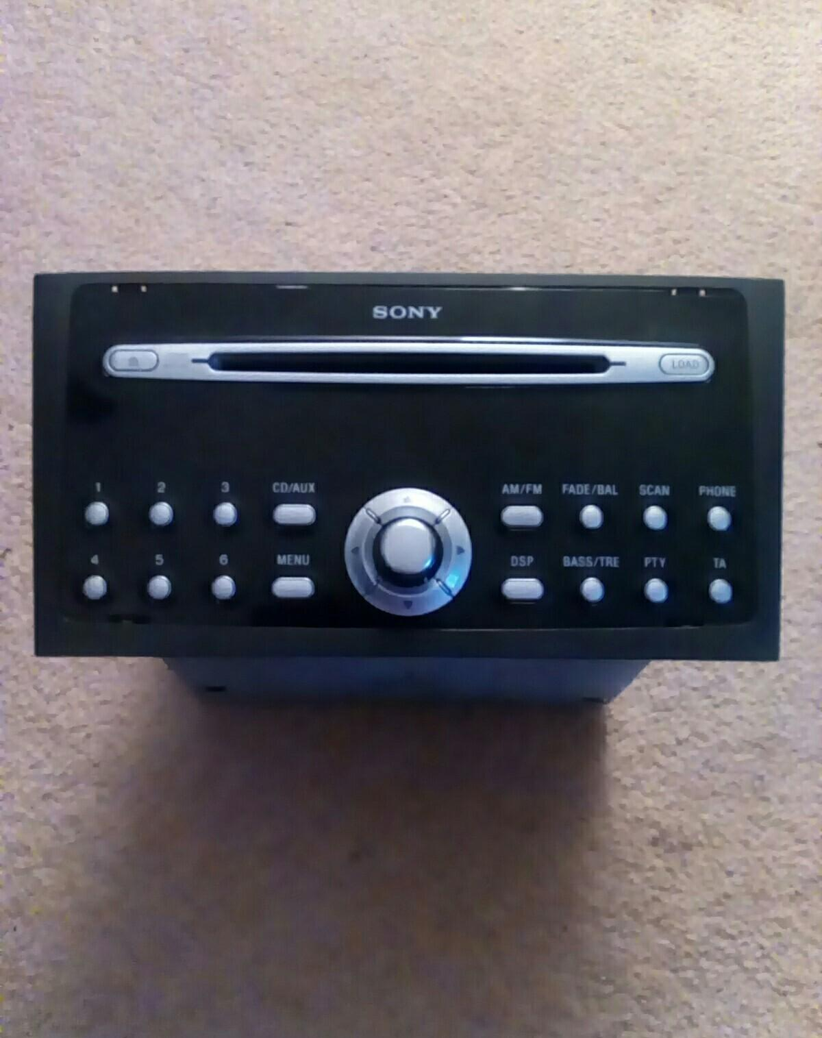 ford mk3 mondeo sony 6 cd speakers not working