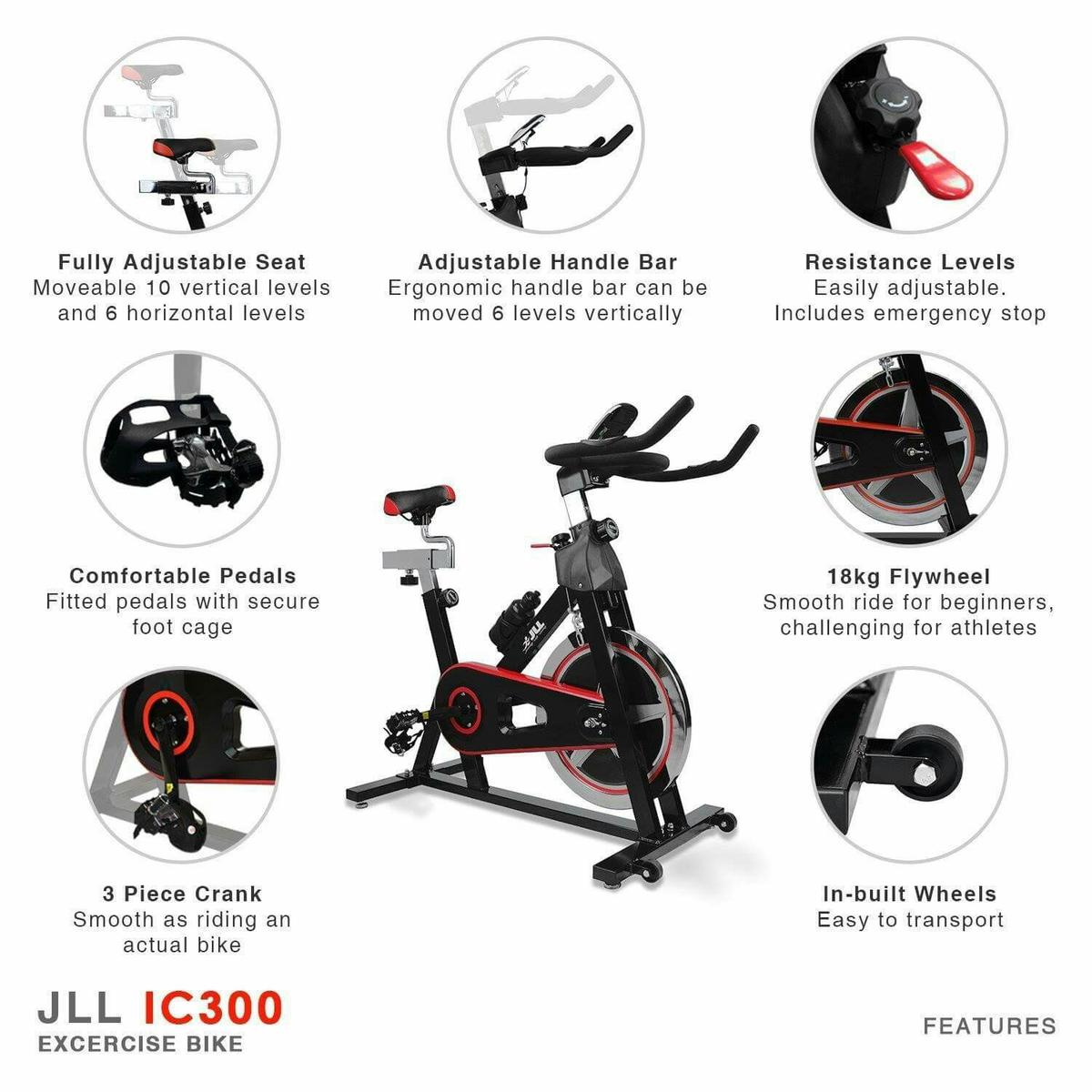 JLL® IC300 Indoor Exercise Bike in OL7-Lyne for £125 00 for