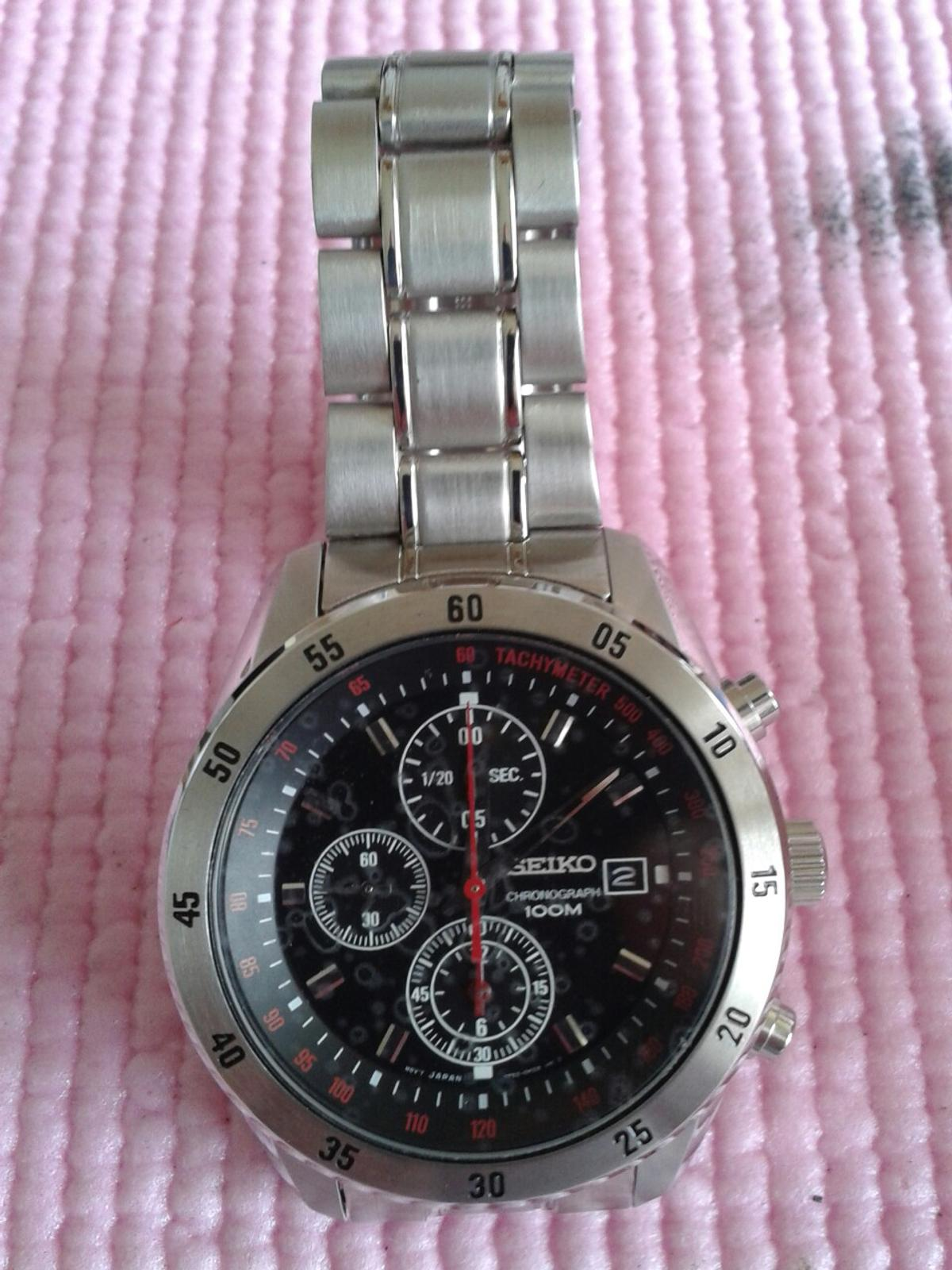 check out 14c4f 0b3ce Seiko 7t92 chronograph watch in NN8 Wellingborough for ...