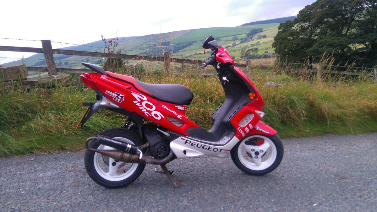 Open to offers  Peugeot Speedfight 100cc in BB9 Nelson for