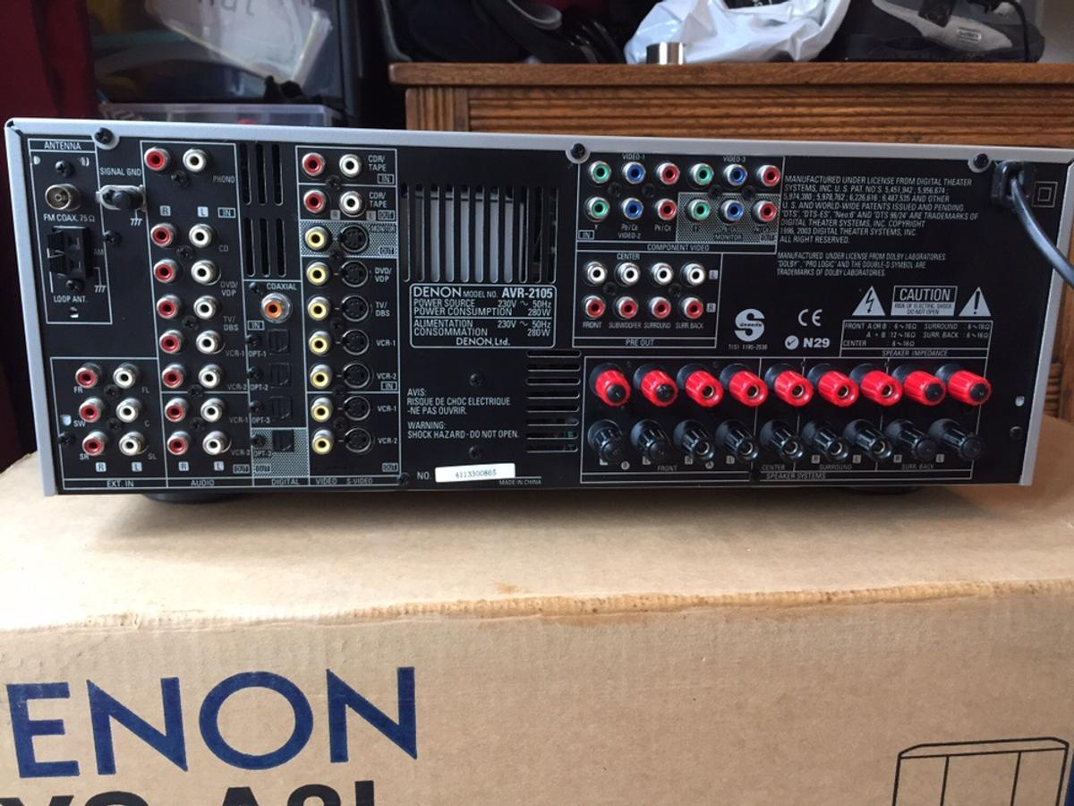 Denon AVR-2105 AV Receiver in MK10 Broughton for £40 00 for sale