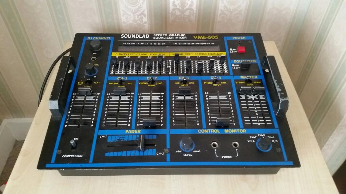 Soundlab Stereo Graphic Equalizer Mixer in HA4 Ruislip for £35 00