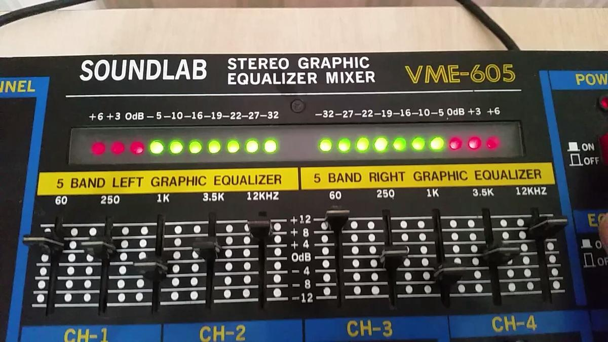 Soundlab Stereo Graphic Equalizer Mixer in HA4 Ruislip for