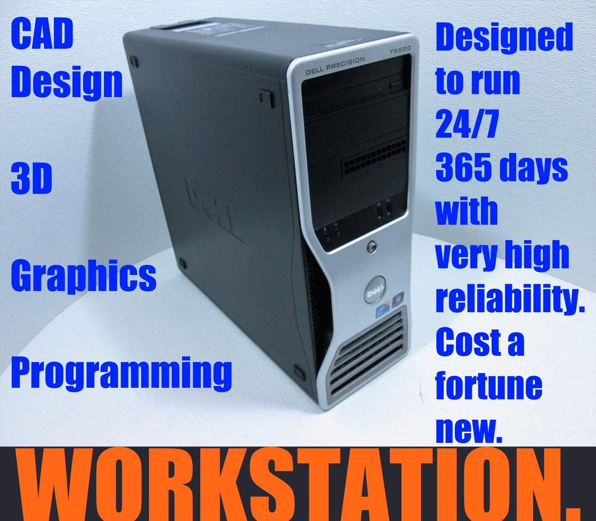 L@@K ~ Workstation Dell Precision T5500 in BN2 Brighton for