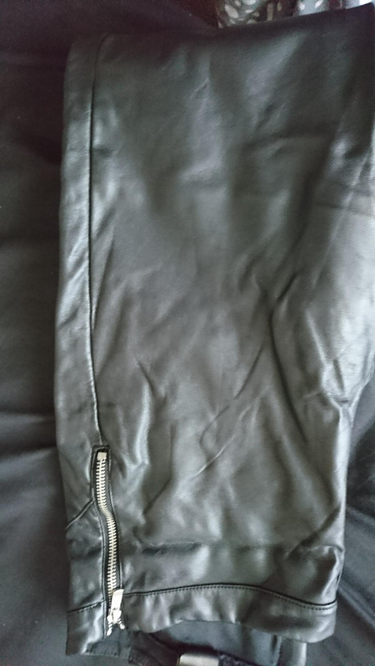 a1253fb758 wet look faux leather trousers in S8 Sheffield for £15.00 for sale ...