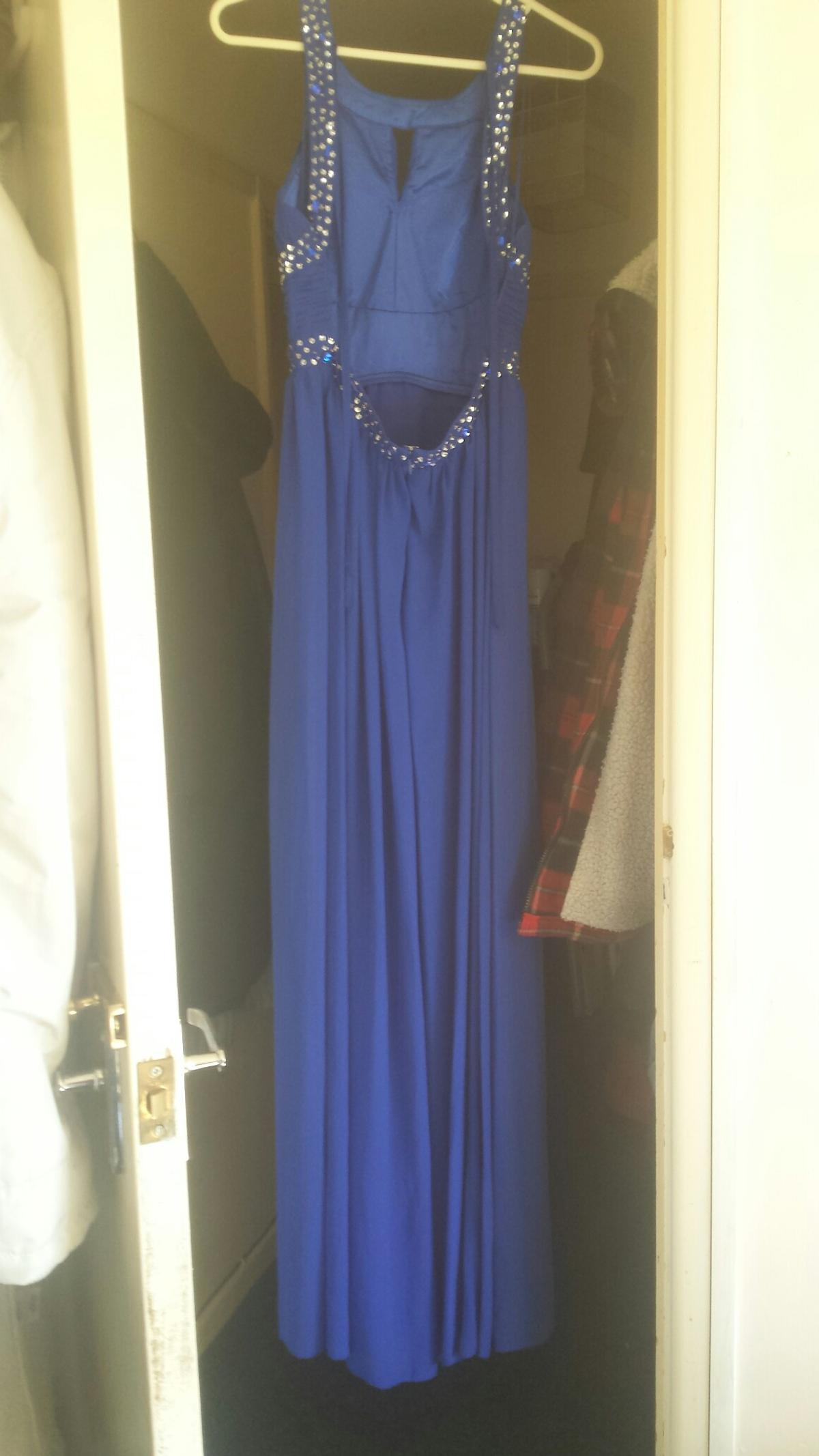 Quiz Royal Blue Dress In So45 Holbury For 35 00 For Sale Shpock