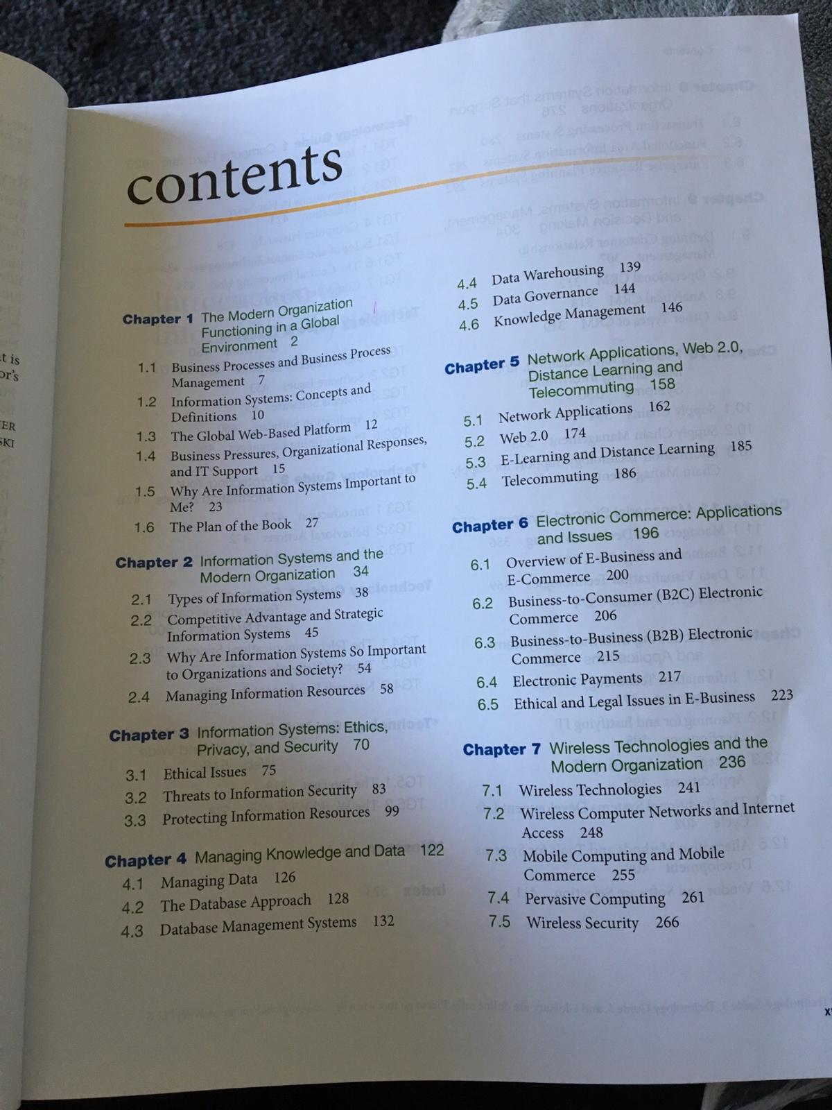 Information systems crm text book