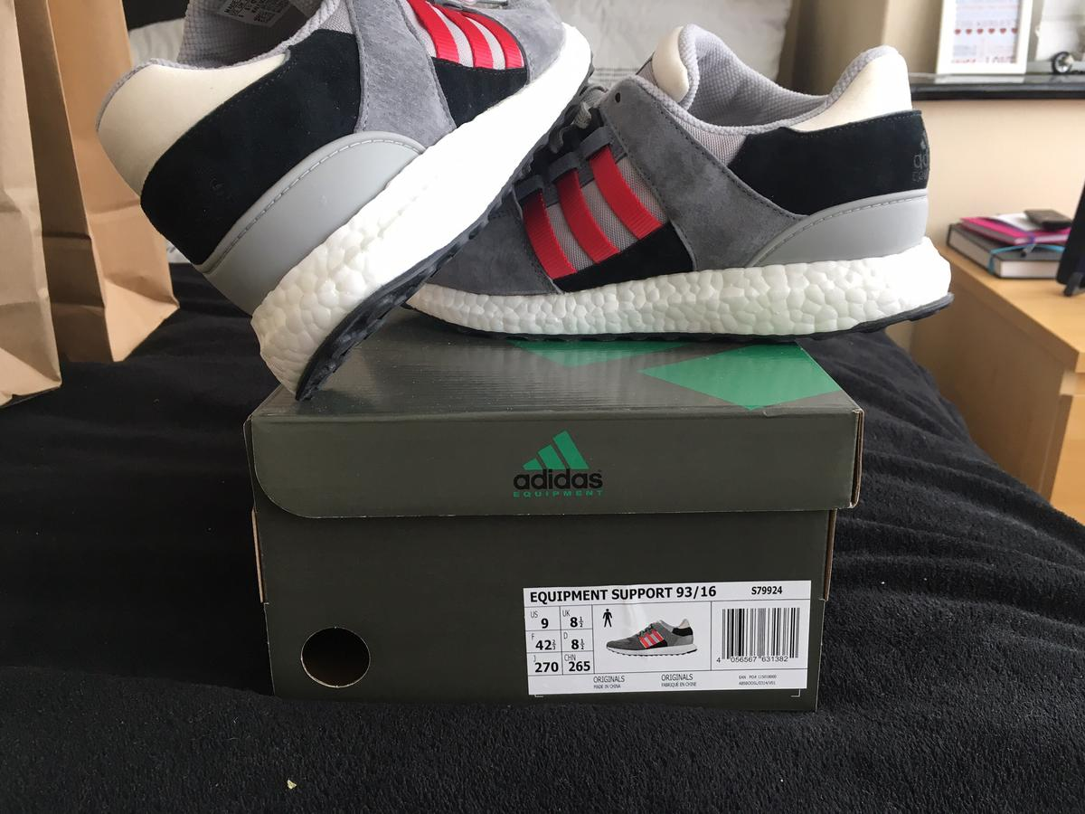 finest selection dac4e 69b61 Adidas equipment trainers size 8.5