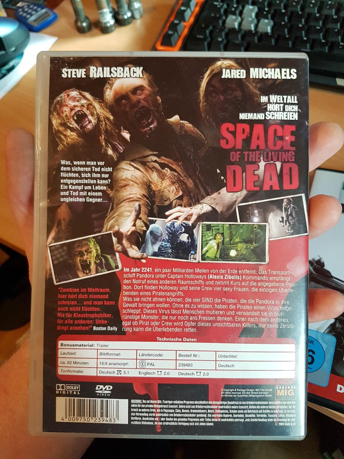 Alle Anderen 2009 dvd space of the living dead