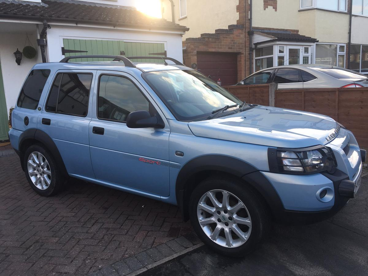Freelander td4 sports    swap in LE9 Shilton for £1,200 00