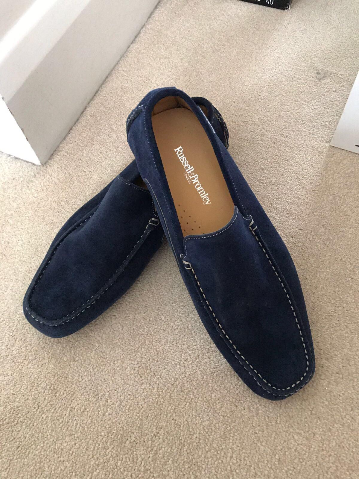5071bbfe9c9 Russell and Bromley Men's Driving Shoes