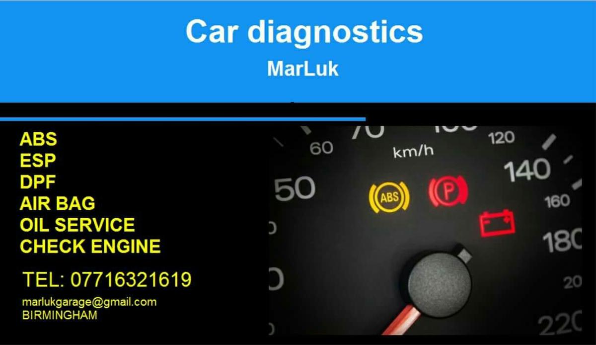 Car diagnostics in B23 Birmingham for £10 00 for sale - Shpock