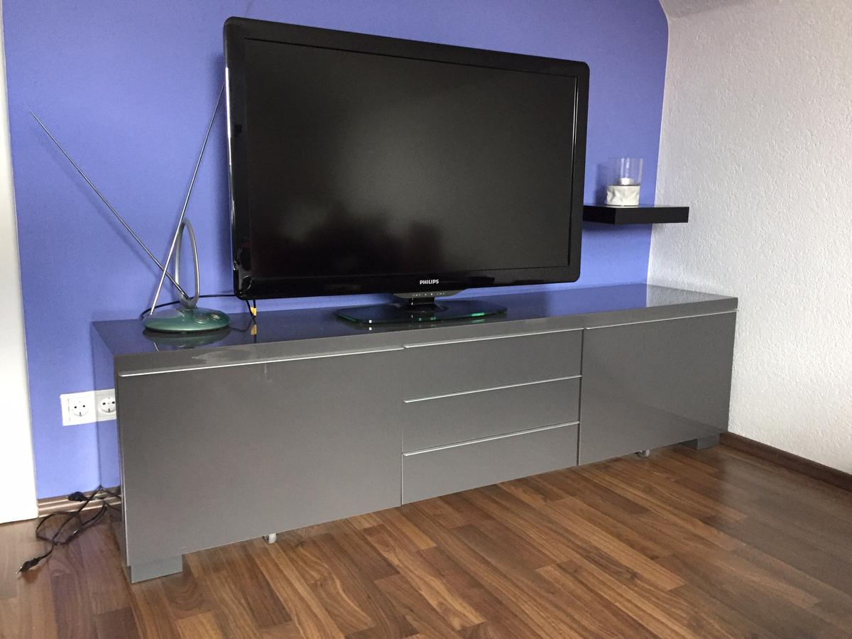 Tv Board Lack Grau In 85238 Petershausen For 50 00 For Sale Shpock