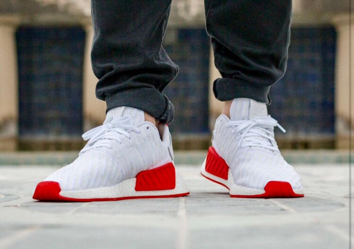 Adidas Nmd R2 White Red In 39100 Bozen For 220 00 For Sale Shpock