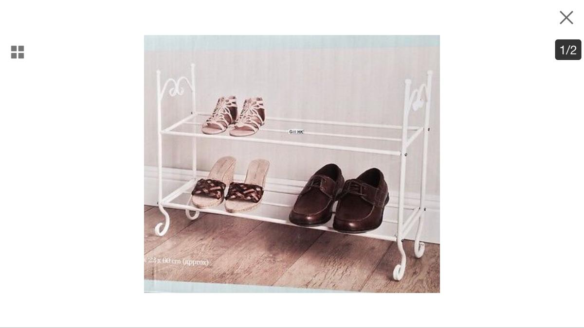 Incredible Homebase Vintage Shabby Chic Metal Shoe Rack In Ls16 Leeds Complete Home Design Collection Barbaintelli Responsecom