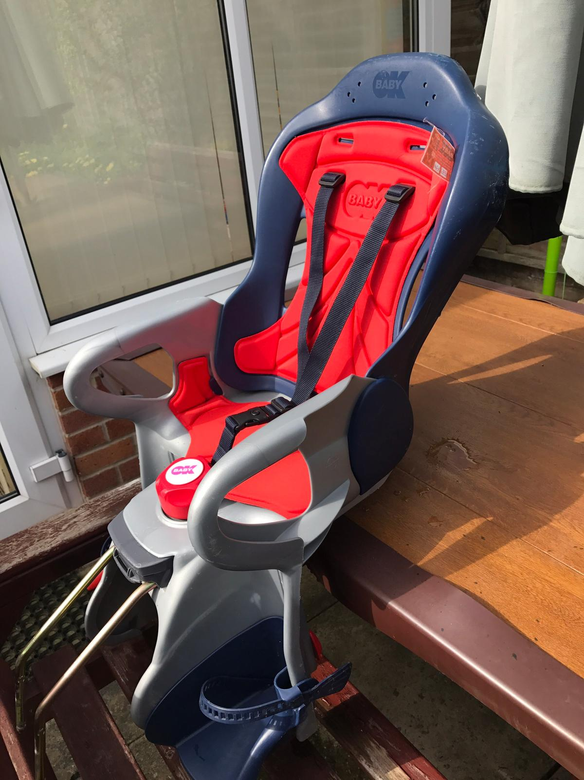 Ok Baby Sirius Reclining Child Bike Seat In De74 Donington Fur