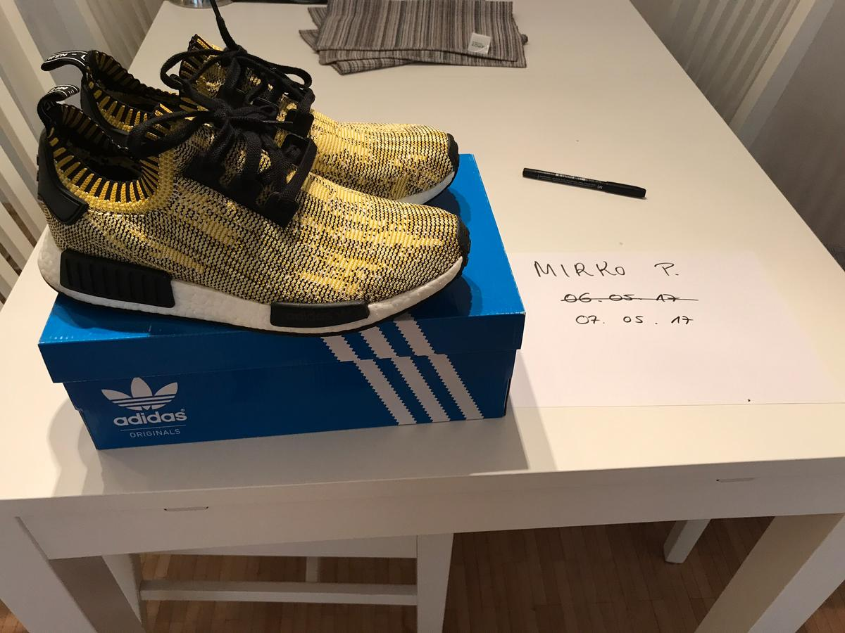 100% Authentic Adidas NMD R1 Pk Og 2017 Size 7 Deadstock