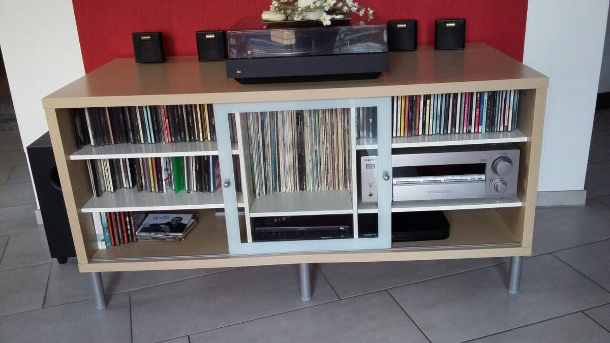 Ikea Magiker Tv Bank Birke Weiss In 59368 Werne For 15 00 For Sale Shpock