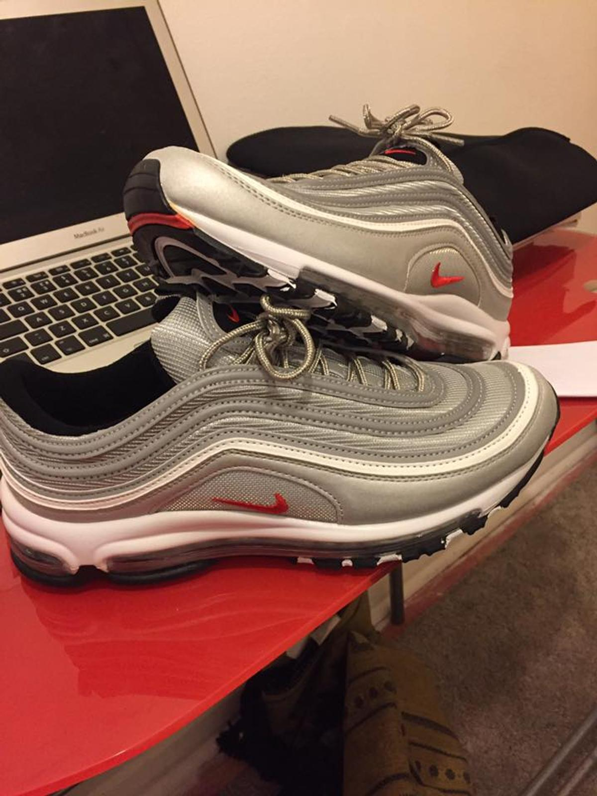 huge discount 74fb9 bc87a Nike Air Max 97 Silver Bullet (UK8.5)