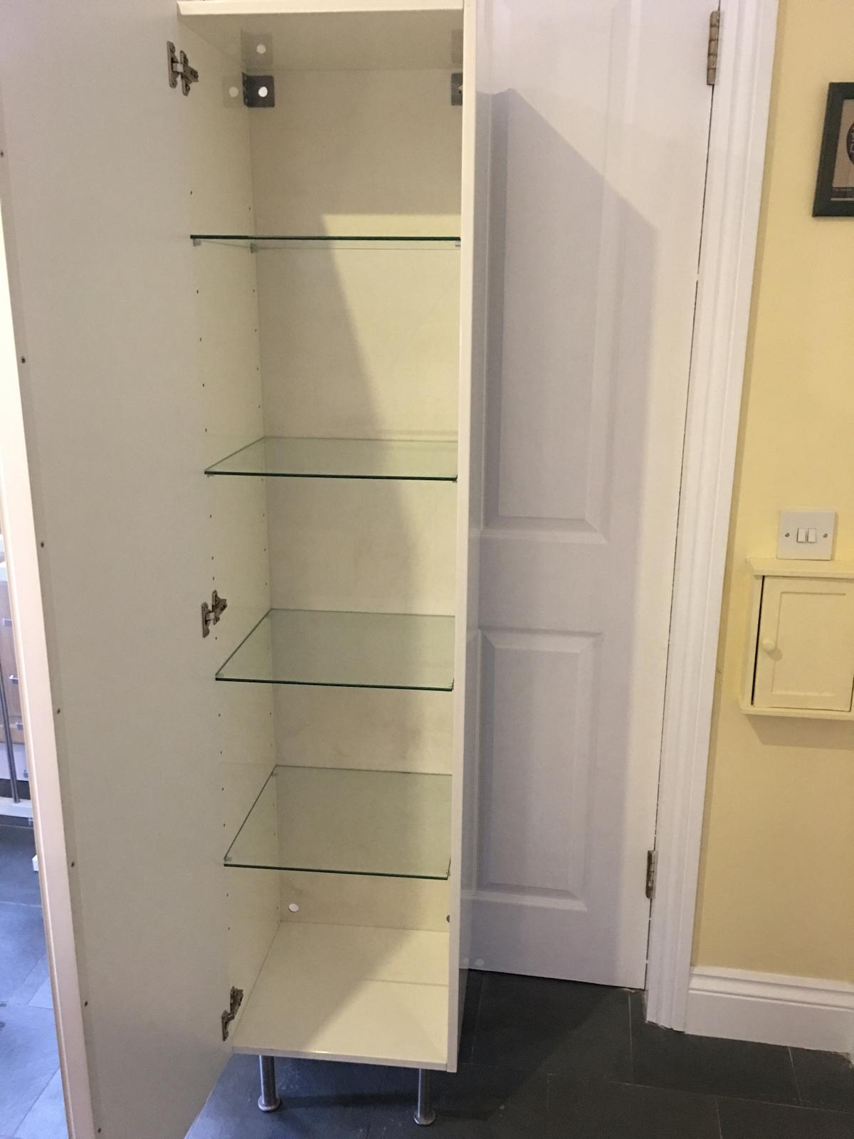 Excellent White Gloss Ikea Godmorgan Bathroom Cabinet In Bn3 Hove For Home Interior And Landscaping Ponolsignezvosmurscom
