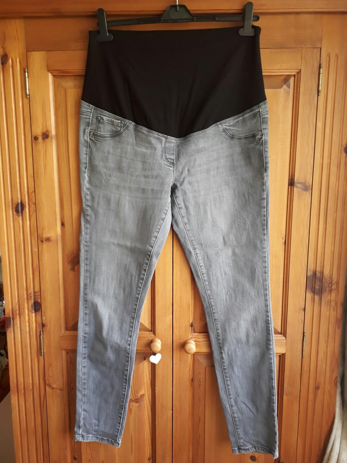 ec0a2df60ae1a Next Maternity Jeans Trousers Grey 14 long in PE14 Bridge for £5.00 ...