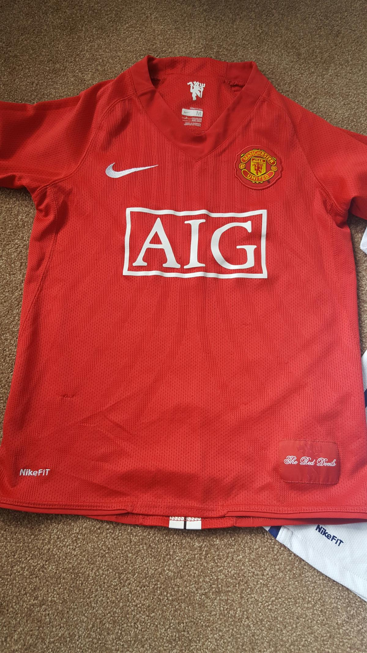 half off 0a81d 0a61a Man United Football Shirts Job Lot in B77 Wilnecote for ...